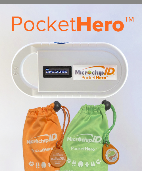 Pocket Hero Microchip Reader